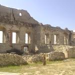 Janowiec Castle: courtyard